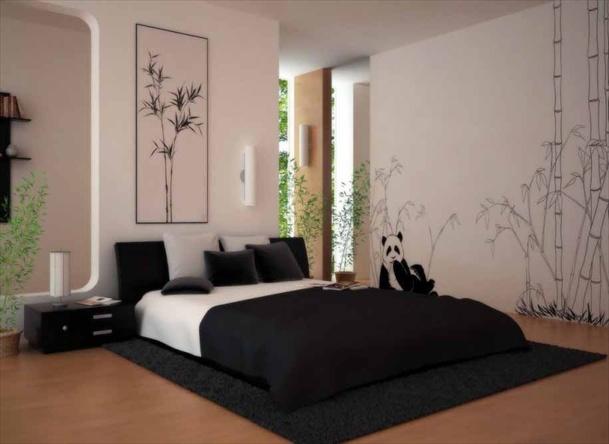 Kamar Tidur Sederhana Dengan Konsep Monokrom - Mencoret ...