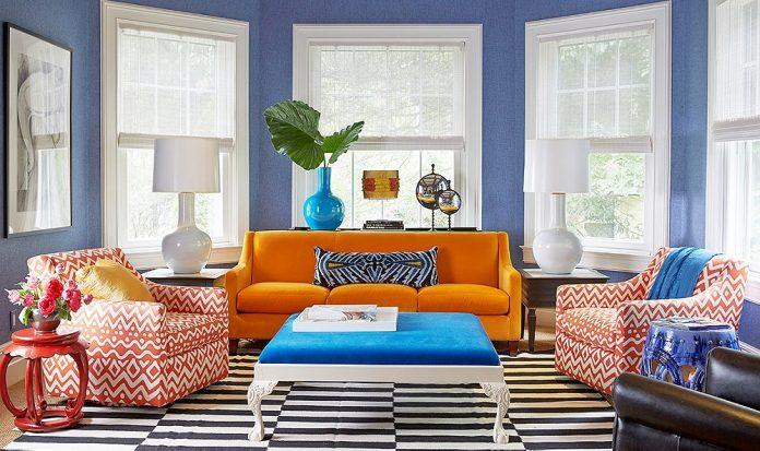 Desain Rumah Unik Dengan Konsep Warna