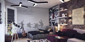 Interior Kamar Tidur Nyaman Dengan Konsep Dekorasi Dari Hobi