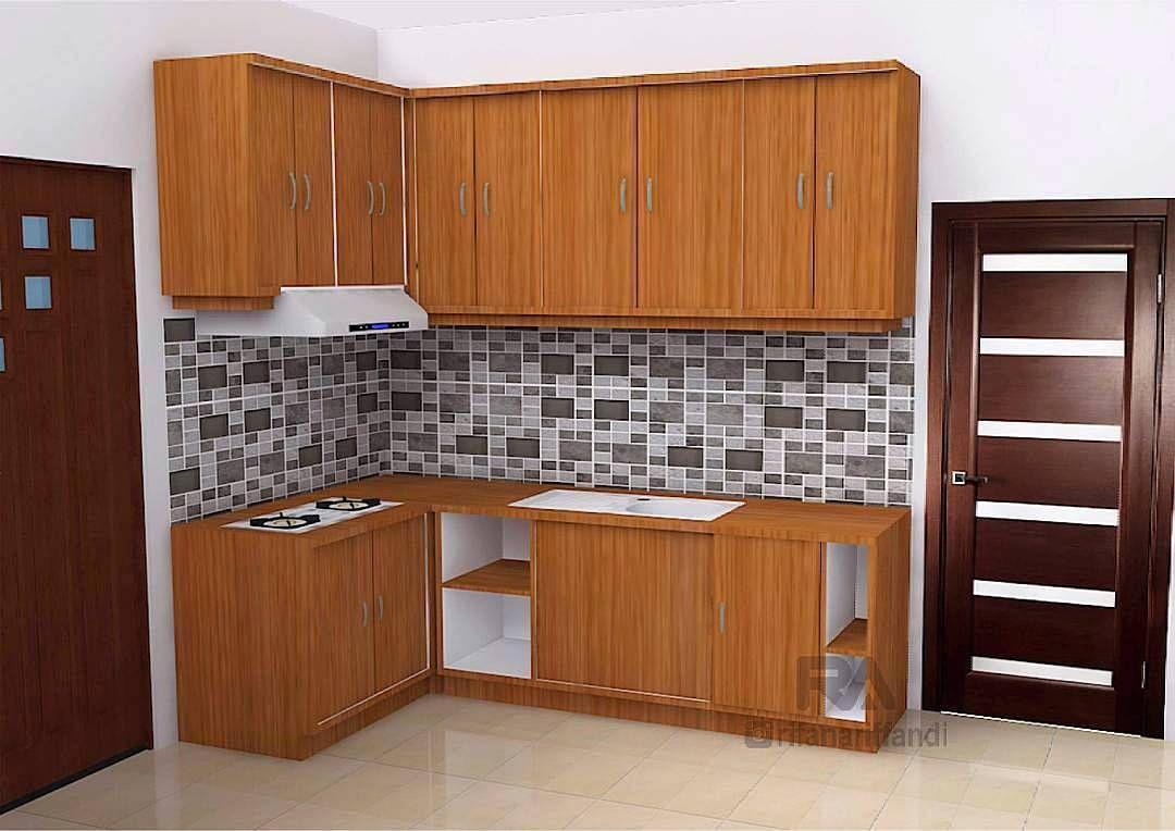 pemilihan material kitchen set