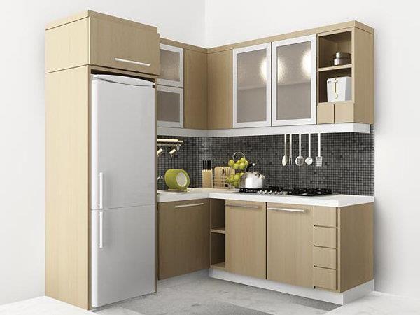 pilihan warna kitchen set minimalis