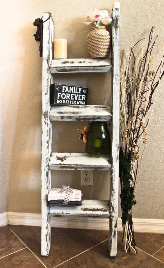 memanfaatkan perabot bekas untuk dekorasi vintage