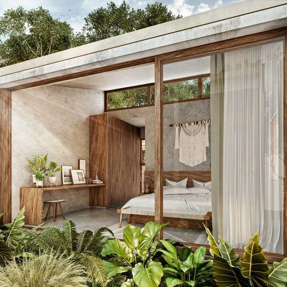 Tropical apartment cancun