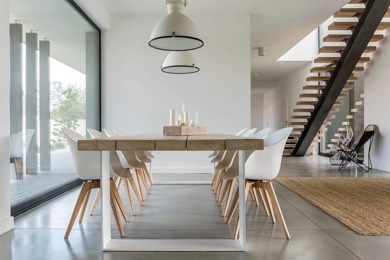 Design Basics For Minimalist Dining, Minimalist Dining Room Table